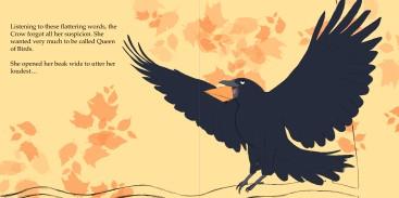 Aesop Fox Crow Krister Eide 4